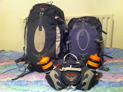 Review: Osprey Atmos 35L & 25L Packs.