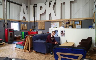Alpkit. A great brand and a cool place to visit.
