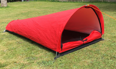 First look: Alpkit Hooped Bivvy-Bag (prototype).