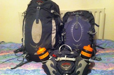 Review: Osprey Atmos 35L & 25L Packs.